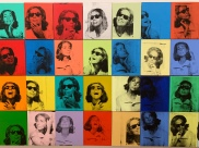 Whitney Museum - Ethel Scull 36 Times by Andy Warhol