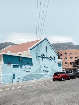 District Six Nelson Mandela Street Art