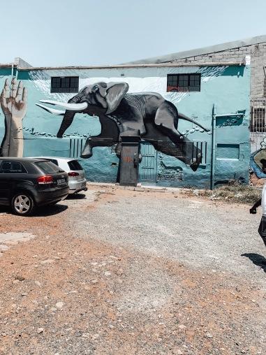 Woodstock Elephant Street Art