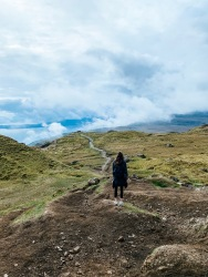 Hiking the Old Man of Storr