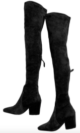 Goodnight Macaroon 'ELLIS' Over the Knee Suede Boots