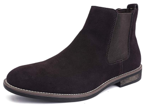 Suede Leather Ankle Boot